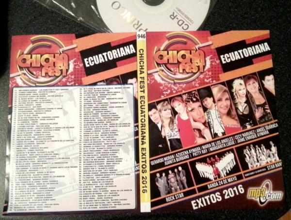 Chicha Fest Ecuatoriana - Exitos2016