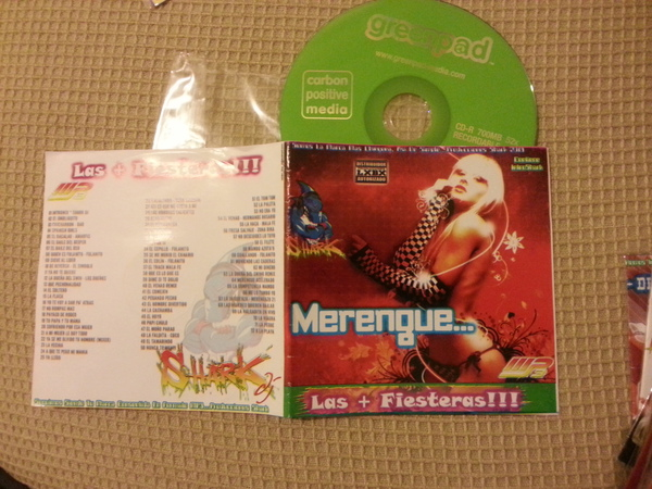 Merengue - Las + Fiesteras - DJ Shark