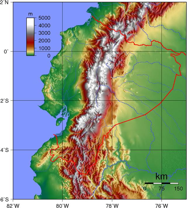 Ecuador_Topography
