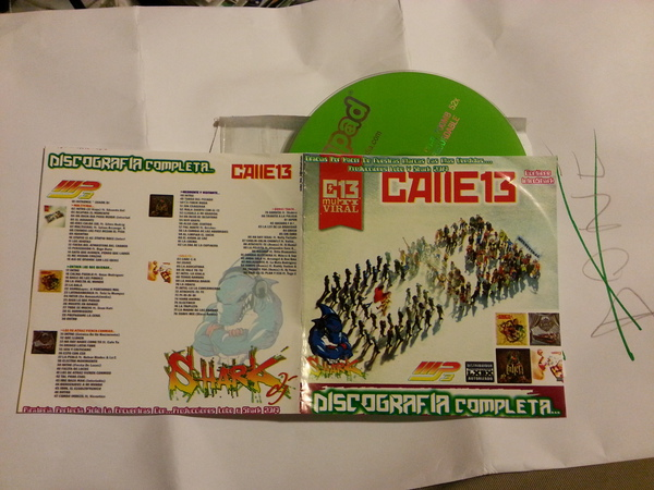 Calle13 - Discografia Completa - Shark DJ