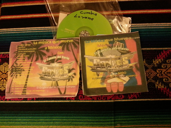 La Musica que Mueve a Mexico con El Talento del Barrio - Campos Tepito - Discos y Sonido (El Original del Sr. Hector Campos)