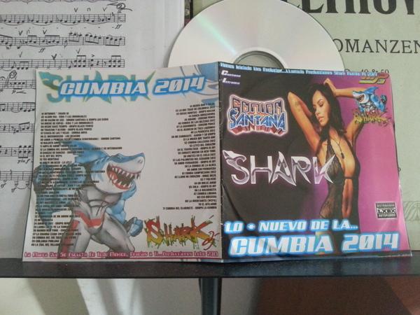Lo + Nuevo de la Cumbia 2014 - Sonido Santana - Shark DJ