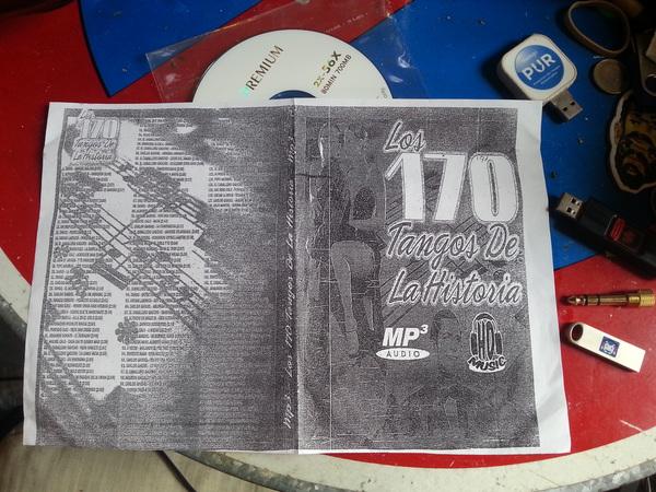 Los 170 Tangos de la Historia