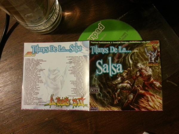 Titanes de la Salsa - Lobo DJ