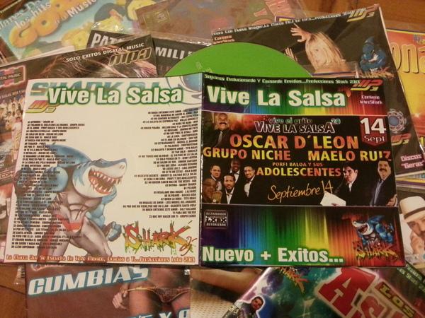 Vive la Salsa - Nuevos + Exitos - Shark DJ